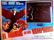 WORLD OF THE VAMPIRES (1961) - Original Mexican Lobby Card