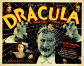 DRACULA (1931 TC Web) - 11X14 Lobby Card Reproduction