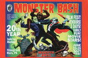 MONSTER BASH 2017 - Promo Card