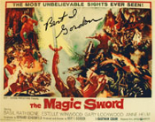 BERT I. GORDON (Magic Sword Poster) - 8X10 Autographed Photo