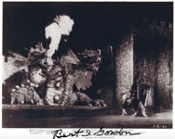 BERT I. GORDON (Magic Sword Dragon) - 8X10 Autographed Photo