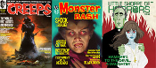 MONSTER MAG POWER PLAY (Creeps, MB, LSOH) - Three Magazines