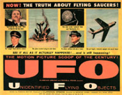 UNIDENTIFIED FLYING OBJECTS - 11X14 Lobby Card Reproduction