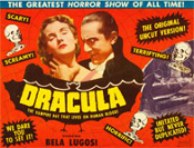 DRACULA (1931 Re-Issue Red Web) - 11X14 Lobby Card Reproduction