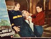 HOUSE OF FRANKENSTEIN (1944/Struggle) - 11X14 Lobby Card Repro