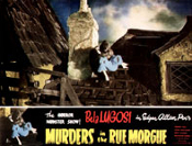 MURDERS IN THE RUE MORGUE (1932/Rooftop) - 11X14 Reproduction