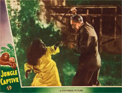 JUNGLE CAPTIVE (1945/Whipped) - 11X14 Lobby Card Reproduction