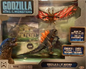 GODZILLA SERIES: MOTHRA BATTLE PACK - Action Figures