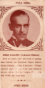 BORIS KARLOFF FORTUNE CARD (3x5 inch/Early 1930s) - Collectible