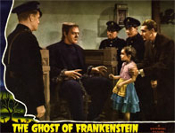 GHOST OF FRANKENSTEIN (1942 w/Janet Ann) - 11X14 Reproduction