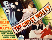 GHOST WALKS, THE (1934) - 11X14 Lobby Card Reproduction