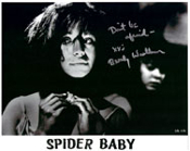 BEVERLY WASHBURN (Underlit) - 8X10 Autographed Photo