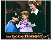 BEVERLY WASHBURN (Lone Ranger) - 8X10 Autographed Photo
