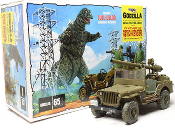 GODZILLA JEEP - Model