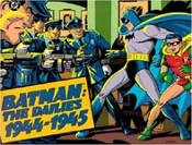 BATMAN: THE DAILES 1944-1945 - Large Softcover Book