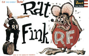 "RAT FINK (Ed ""Big Daddy"" Roth) - Model Kit"