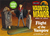 HAUNTED MANOR: FLIGHT OF THE VAMPIRE - Model Kit