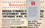 UNIVERSAL CITY NEWS 1974 - Glossy Newspaper Collectible