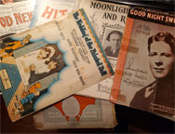VINTAGE THEATER MUSIC SONGBOOKS (1920s-1940s) - Collectible Pack