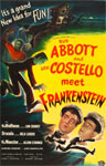 ABBOTT & COSTELLO MEET FRANKENSTEIN (Style 1) - 11X17 Repro