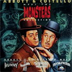 ABBOTT & COSTELLO MEET THE MONSTERS (4 Films) - Laser Set