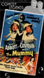 ABBOTT & COSTELLO MEET THE MUMMY (1955/Poster Cover) - Used VHS
