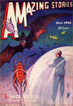 AMAZING STORIES (July 1935) - Pulp Magazine