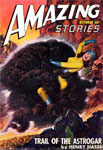 AMAZING STORIES Vol. 21 No. 10 - Pulp Magazine