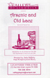 ARSENIC AND OLD LACE - Valley Players Program Guide