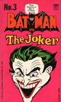 BATMAN VS. THE JOKER (Comic Reprints 1966) - Paperback