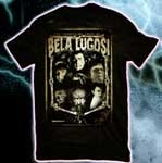 FACES OF BELA LUGOSI (Limited Availability) - T-Shirt
