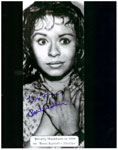 BEVERLY WASHBURN (THRILLER TV) - 8X10 Autographed Photo