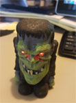 FRANKENSTEIN MONSTER LIGHT-UP - Big Head Collectible Toy