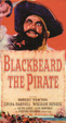 BLACKBEARD THE PIRATE (1952) - Used VHS