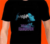 BRIDE OF FRANKENSTEIN (Blue Bride!) - T-Shirt