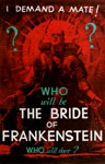 BRIDE OF FRANKENSTEIN (1935 Red Style) - 11X17 Poster Repro