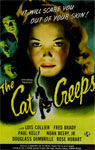 CAT CREEPS (1946) - 11X17 Poster Reproduction