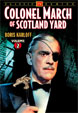 COLONEL MARCH OF SCOTLAND YARD Vol. 2 - DVD