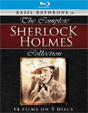 COMPLETE SHERLOCK HOLMES, THE (14 Films/Rathbone) - Blu-Ray