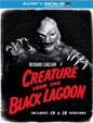 CREATURE FROM THE BLACK LAGOON (1954/B&W Cover) - Blu-Ray