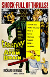CREATURE WITH THE ATOM BRAIN (1956) - 11X17 Poster Reproduction