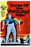 CURSE OF THE FACELESS MAN (1958) - 11X17 Poster Reproduction