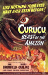 CURUCU, BEAST OF THE AMAZON (1956) - 11X17 Poster Reproduction
