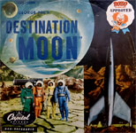 DESTINATION MOON (1950 Story Record) - 78RPM Record