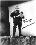 DONNIE DUNAGAN (Monster's got him!) - Autographed Photo