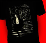 DRACULA - BELA LUGOSI with CANDLE (Glows) - T-Shirt