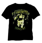 FEARSOME FACES OF FRANKENSTEIN - T-Shirt