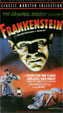 FRANKENSTEIN (1931/Poster Art Box) - Used VHS