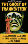 GHOST OF FRANKENSTEIN (1942) - 11X17 Poster Reproduction