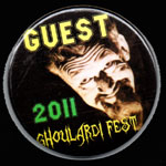 GHOULARDIFEST 2011 GUEST BUTTON - Collectible